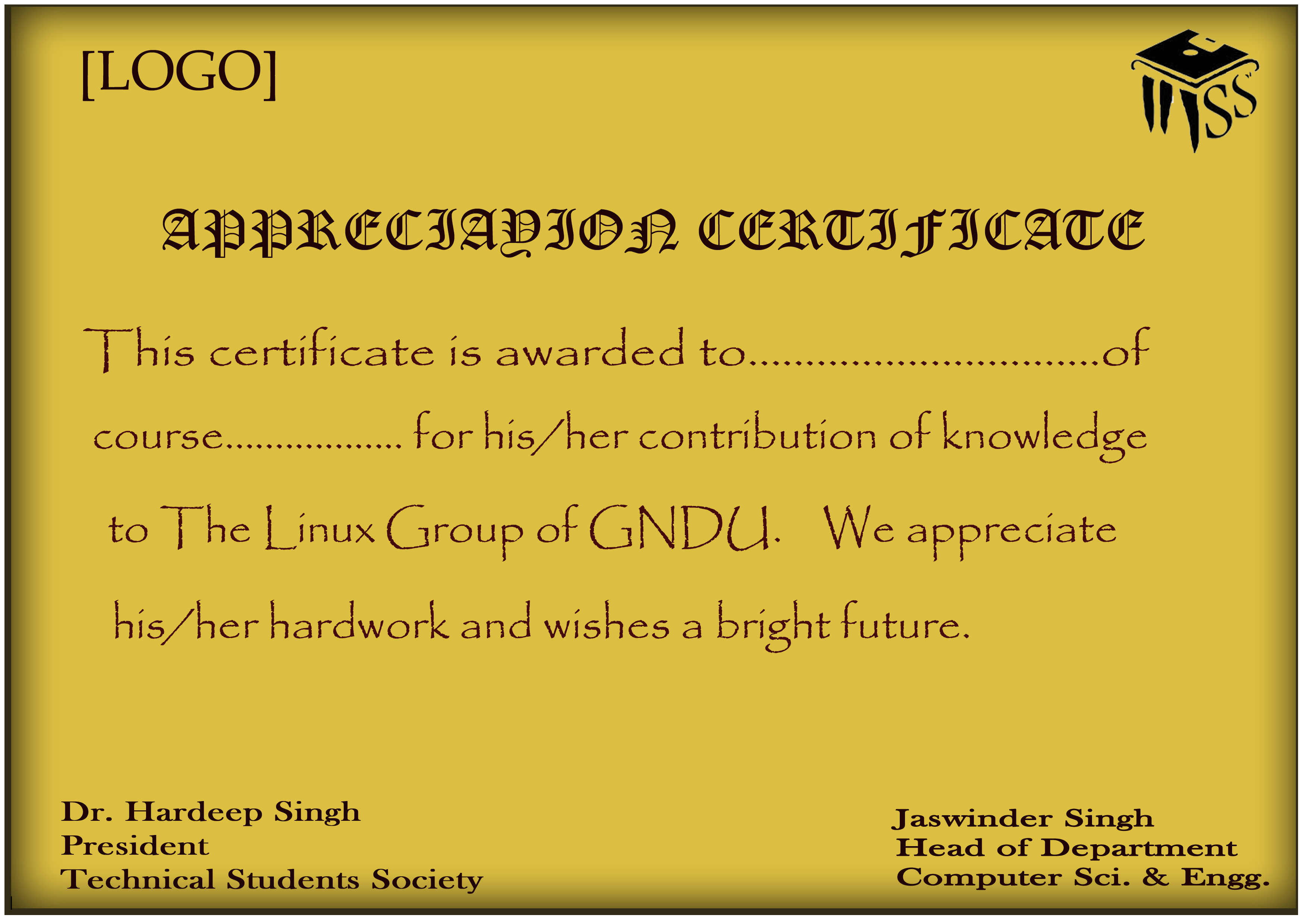 Sample certificate of appreciation for students choice image sample certificate of appreciation for students image collections sample certificate of appreciation for students gallery sample yelopaper Gallery